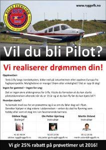 Vil Du Bli Pilot - Kampanje