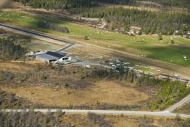 Uteparkering av LN-MTT på Rakkestad