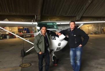 Tommy Meyer er nå aktiv pilot!