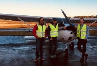 Fredrik har blitt pilot