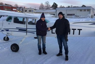 Olav Rygg er pilot