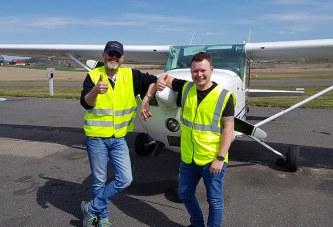Fredrik har blitt pilot!