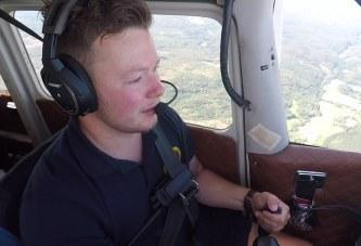 Frivillige piloter jakter skogbranner fra luften