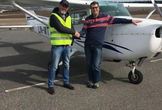 Jan Harry har blitt pilot